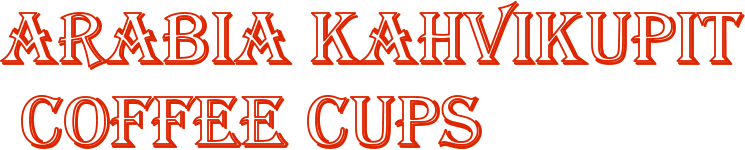 ARABIA KAHVIKUPIT  COFFEE CUPS